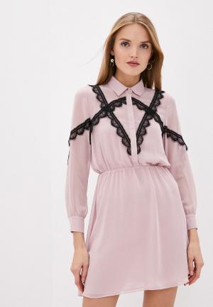 Платье Blugirl Folies. Цвет: розовый