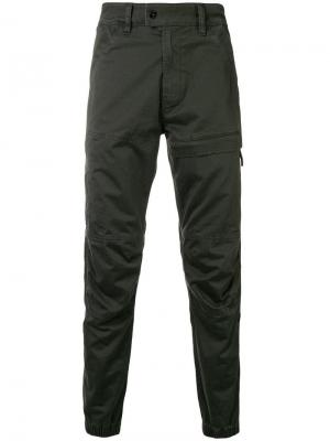 Cargo jeans G-Star Raw Research. Цвет: зеленый