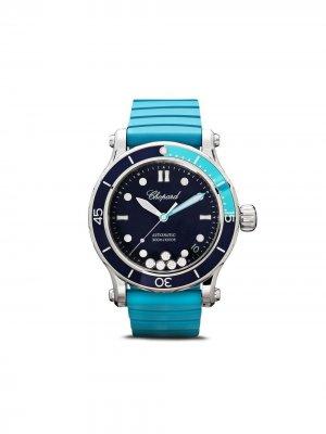 Наручные часы Happy Sport Ocean 40 мм Chopard. Цвет: синий