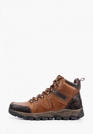 Ботинки Zenden Active. Цвет: коричневый