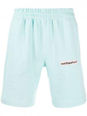 Спортивные шорты not Rain Proof Styland. Цвет: синий