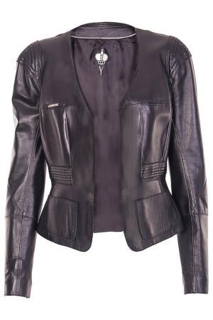 Куртка Irfe. Цвет: черный
