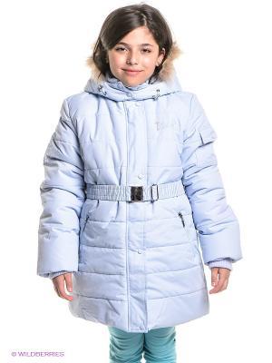 Пальто Baby Line. Цвет: светло-голубой