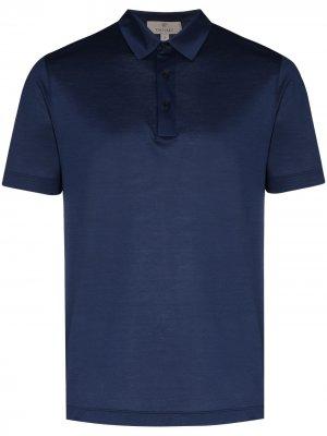 Рубашка поло Lisle Canali. Цвет: синий