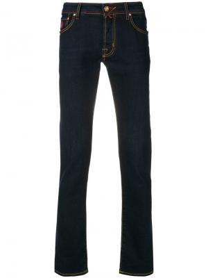 Stitching details jeans Jacob Cohen. Цвет: синий