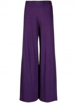 Расклешенные брюки Roibos P.A.R.O.S.H.. Цвет: фиолетовый
