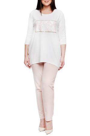 Блуза Leshar. Цвет: белый