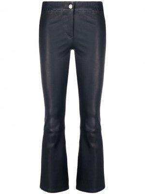 Расклешенные брюки Arma. Цвет: синий