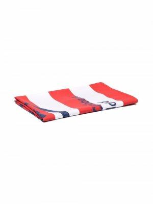 Пляжное полотенце Saint Barth в полоску Mc2. Цвет: красный