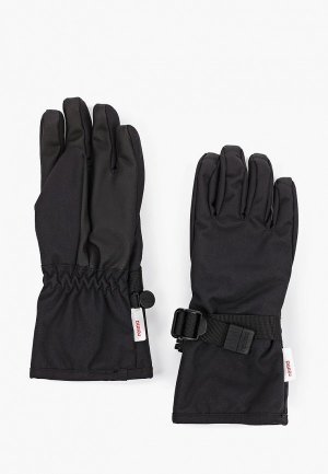Перчатки Reima. Цвет: черный