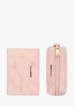 Комплект Dimanche. Цвет: розовый