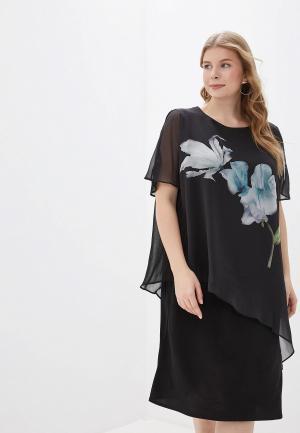 Платье Evans. Цвет: черный