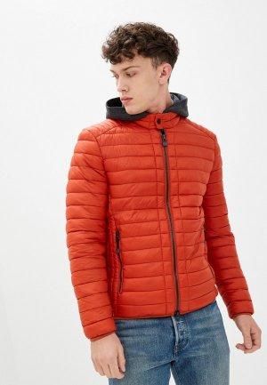 Куртка утепленная Marc OPolo O'Polo. Цвет: оранжевый