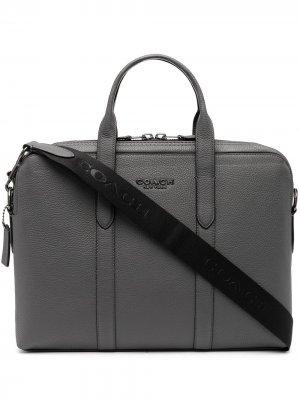 Портфель Metropolitan Coach. Цвет: серый