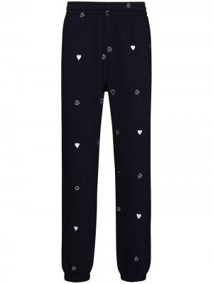 Спортивные брюки с принтом Billionaire Boys Club. Цвет: синий