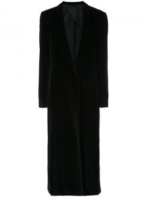 Длинный пиджак Giuliva Heritage Collection. Цвет: черный