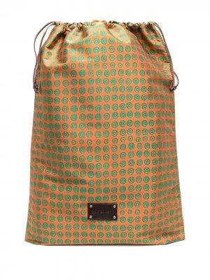 Дорожная сумка Eris с логотипом 10 CORSO COMO. Цвет: оранжевый