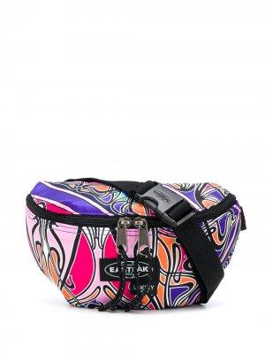 Поясная сумка Liberty с принтом Eastpak. Цвет: розовый