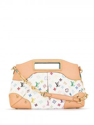 Сумка-тоут Judy MM 2011-го года Louis Vuitton. Цвет: белый