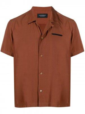 Рубашка на пуговицах Viktor & Rolf. Цвет: коричневый