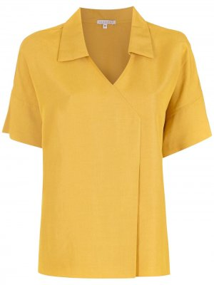 Блузка Sumare с короткими рукавами Alcaçuz. Цвет: желтый