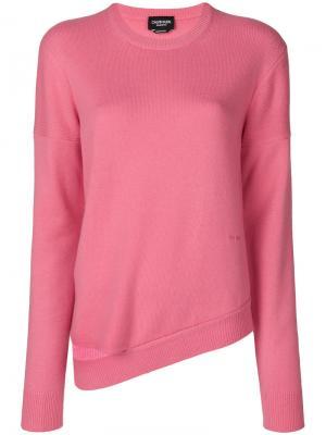 Свитер в стиле casual Calvin Klein 205W39nyc. Цвет: розовый