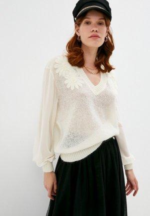 Пуловер Twinset Milano. Цвет: белый