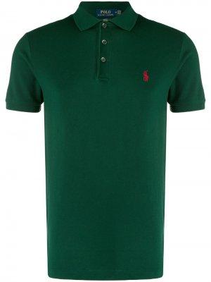 Рубашка-поло кроя слим Polo Ralph Lauren. Цвет: зеленый