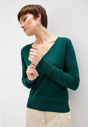 Пуловер Patrizia Pepe. Цвет: зеленый
