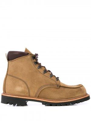 Ботинки Sawmill на шнуровке Red Wing Shoes. Цвет: коричневый