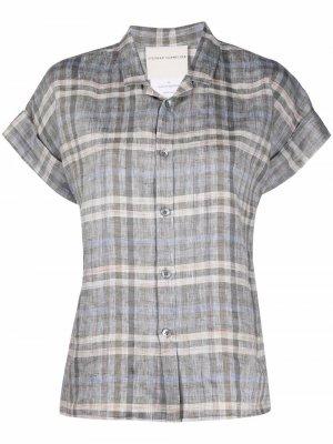 Рубашка в клетку Stephan Schneider. Цвет: серый