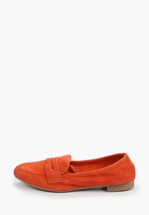 Лоферы Marco Tozzi. Цвет: оранжевый