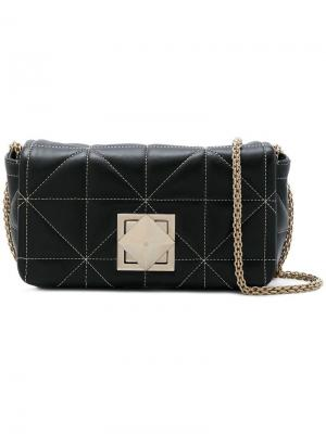 Mini quilted shoulder bag Sonia Rykiel. Цвет: черный