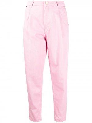 Зауженные джинсы с завышенной талией Essentiel Antwerp. Цвет: розовый