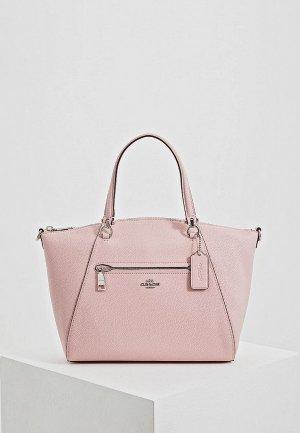 Сумка Coach. Цвет: розовый