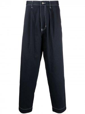 Укороченные зауженные джинсы Société Anonyme. Цвет: синий