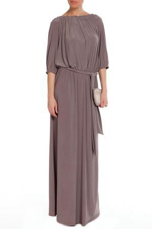 Платье Alina Assi. Цвет: серо-бежевый