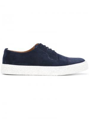 Кроссовки на шнуровке Paul & Joe. Цвет: синий