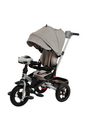 Велосипед 3-х колесный MOBY KIDS. Цвет: серый