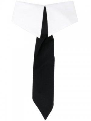 Воротник STUDIO KL с галстуком Karl Lagerfeld. Цвет: белый
