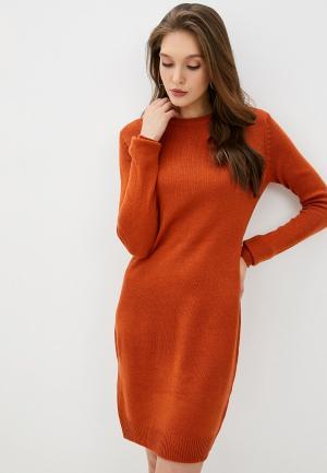 Платье Brave Soul. Цвет: оранжевый