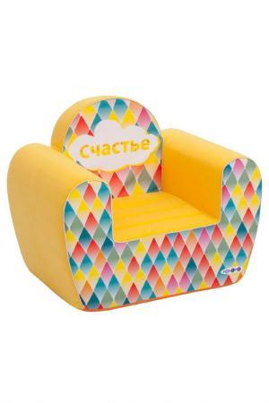 Игровое кресло PAREMO. Цвет: желтый