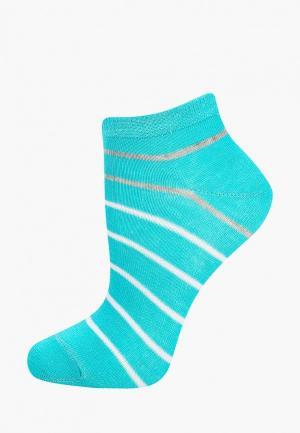 Носки Baon. Цвет: бирюзовый