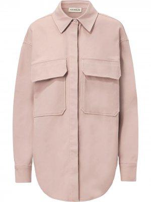 Куртка-рубашка Calista Nicholas. Цвет: розовый