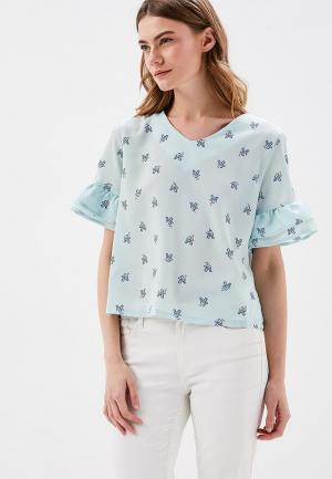 Блуза Befree. Цвет: бирюзовый