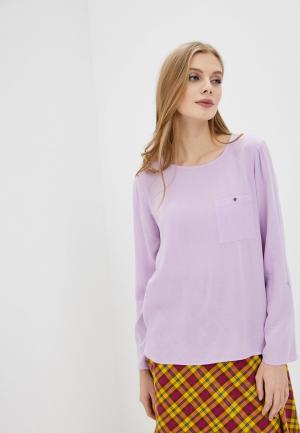 Блуза Tom Tailor Denim. Цвет: фиолетовый