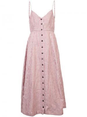 Платье Morgan Mara Hoffman. Цвет: красный