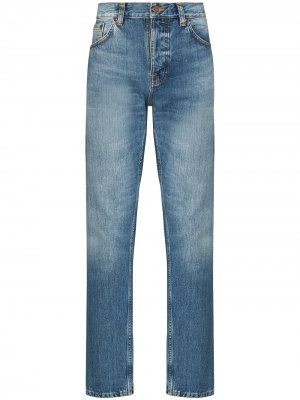 Джинсы Steady Eddie Nudie Jeans. Цвет: синий