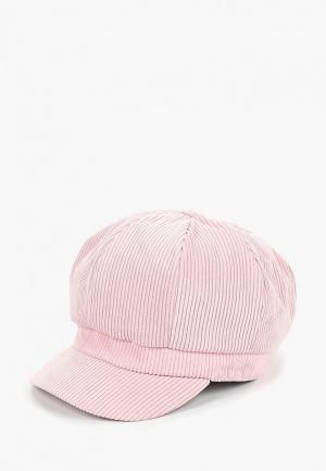 Кепка Modis. Цвет: розовый