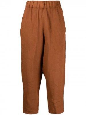 Укороченные брюки с завышенной талией Barena. Цвет: оранжевый